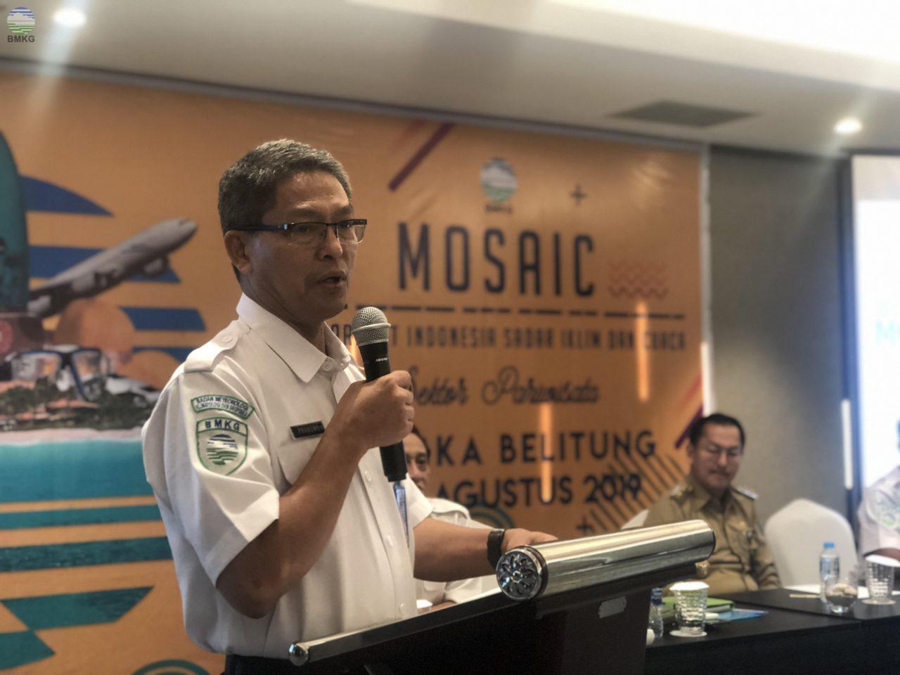 BMKG Selenggarakan Program MOSAIC guna Mendukung Pengembangan Sektor Pariwisata Indonesia