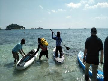 Lomba Kayak Internasional