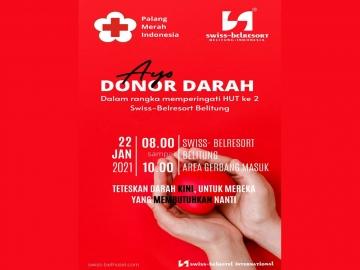 Ayo Donor Darah Di Belitung