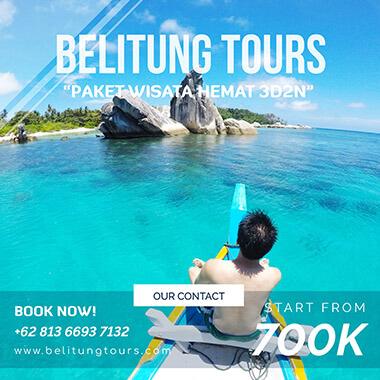 Paket Tour Belitung Murah 3D2N